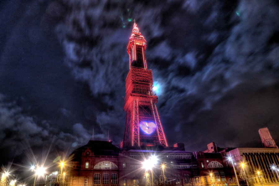 Blackpool Tower, January 2015