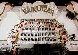 Tower Wurlitzer Console Detail