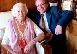 with Dame Vera Lynn