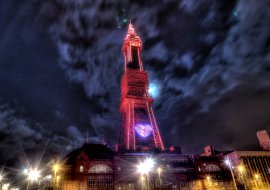 Blackpool Tower, January 2015