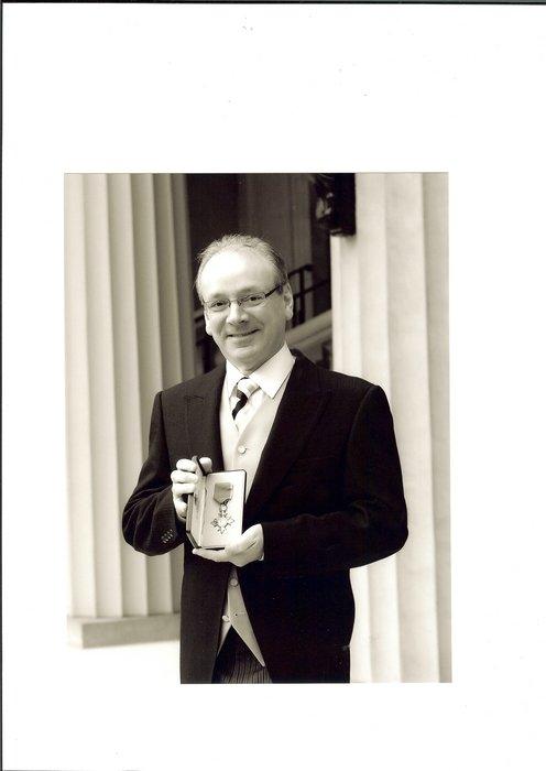 Phil Kelsall  MBE
